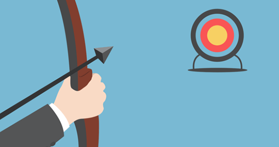 aiming at high targets and goals