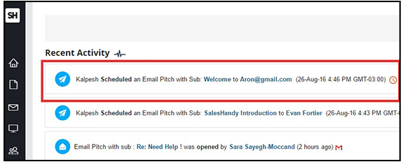 email schedulef