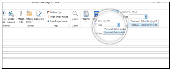 outlook bcc-to-crm