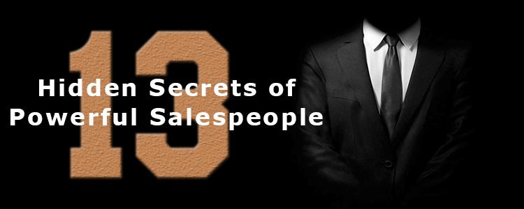 secrets of powerful salespeople