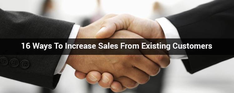 sales from Existing customers