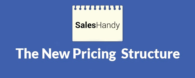 Saleshandy new pricing structure