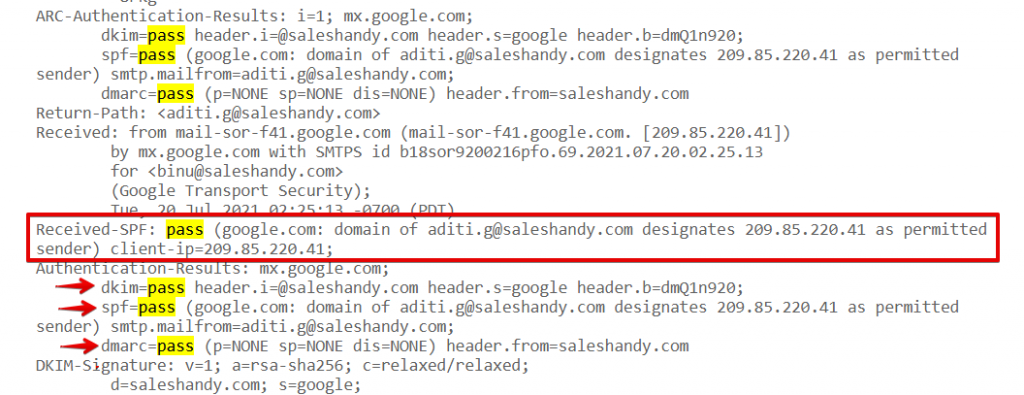 avoiding spam while sending bulk emails using dkim, dmarc, spf
