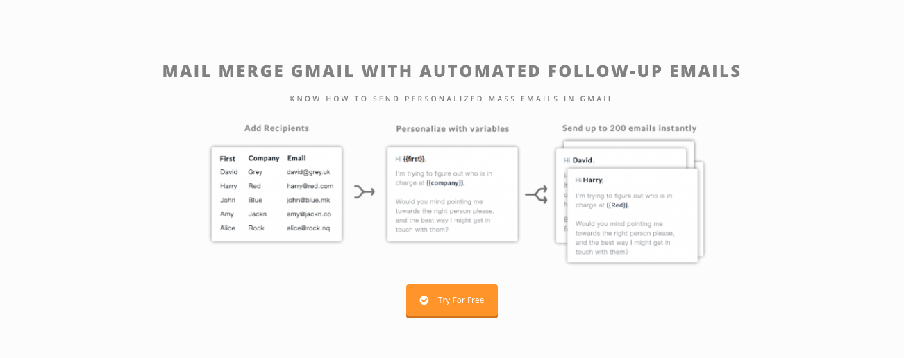mail merge gmail saleshandy