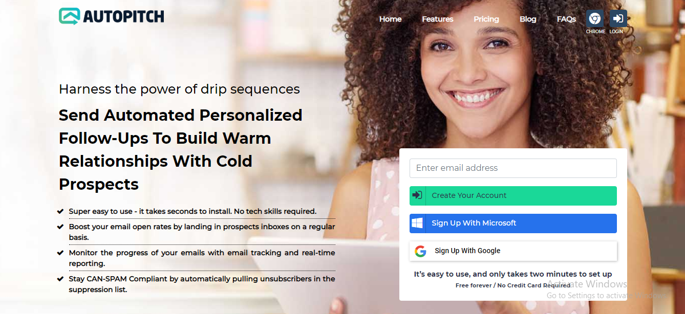 cold email software AutoPitch