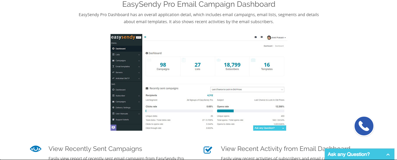 cold emailing tools easy sendy