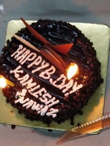 Kamlesh Birthday Cake - February Month Celebrations