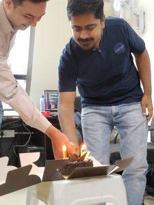 Cake Cutting Ceremony - February Month Celebrations