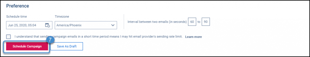 schedule your mail merge in outlook email