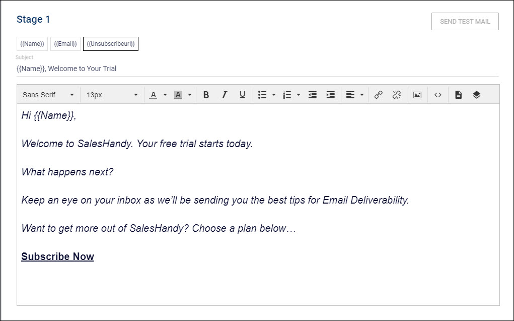 Email-Outreach-tool-Campaign-Step-2