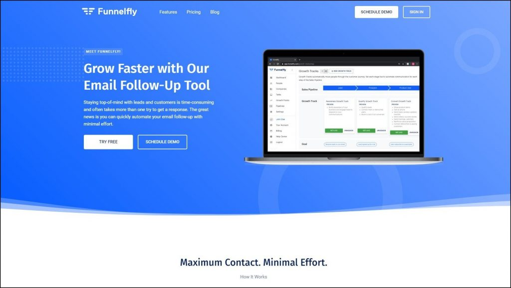 funnelfly-home-page