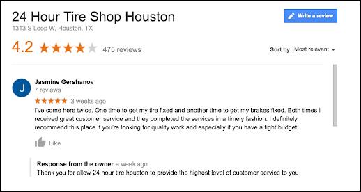 custom review