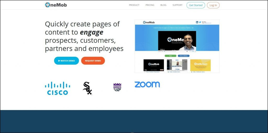 onemob-home-page