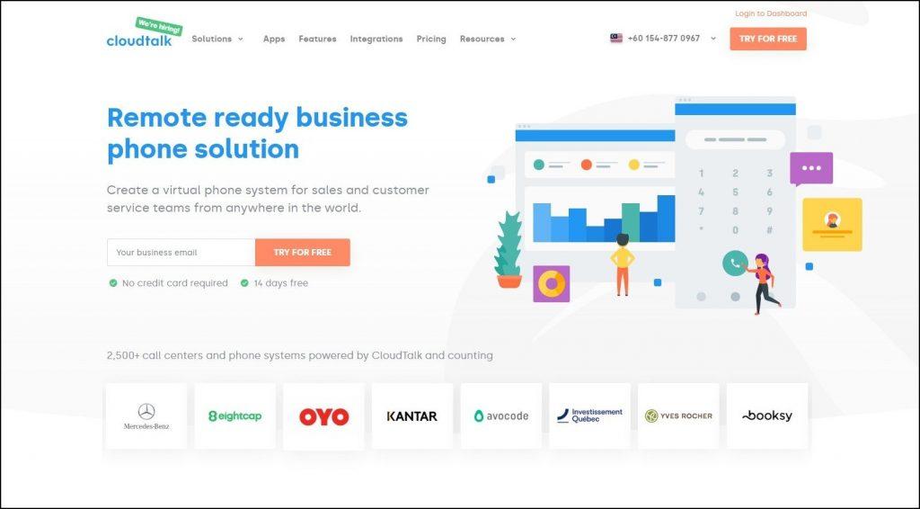 Sales Prospecting Tools- Cold calling- CloudTalk