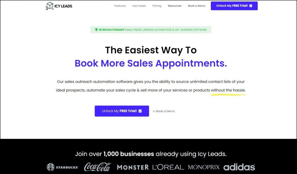 Sales Prospecting Tools- Lead generation- Icy Leads