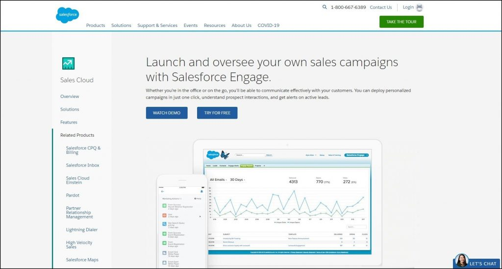 Sales Prospecting Tools- Email Outreach- Salesforce Engage