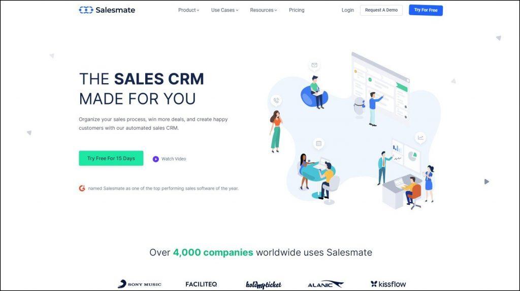 Sales Prospecting Tools- Sales CRM- Salesmate