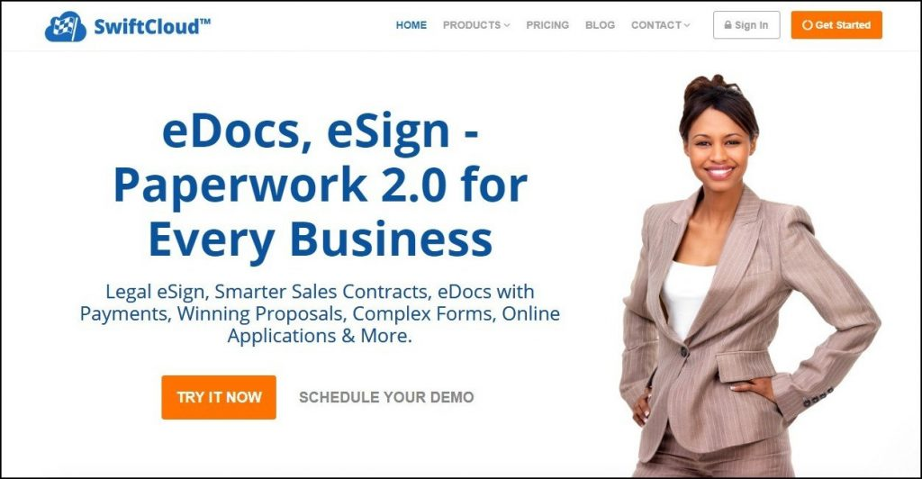 Sales Prospecting Tools- Contract and Proposal- Swiftcloud