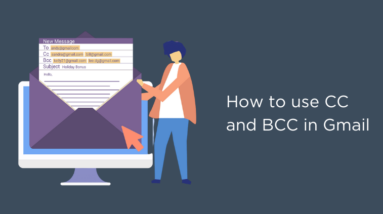 cc and bcc in Gmail