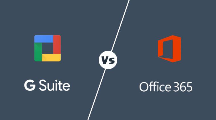 gsuite vs office 365
