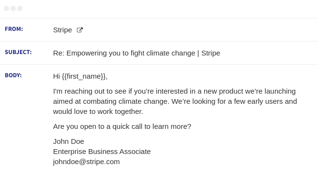 stripe email sequence 3
