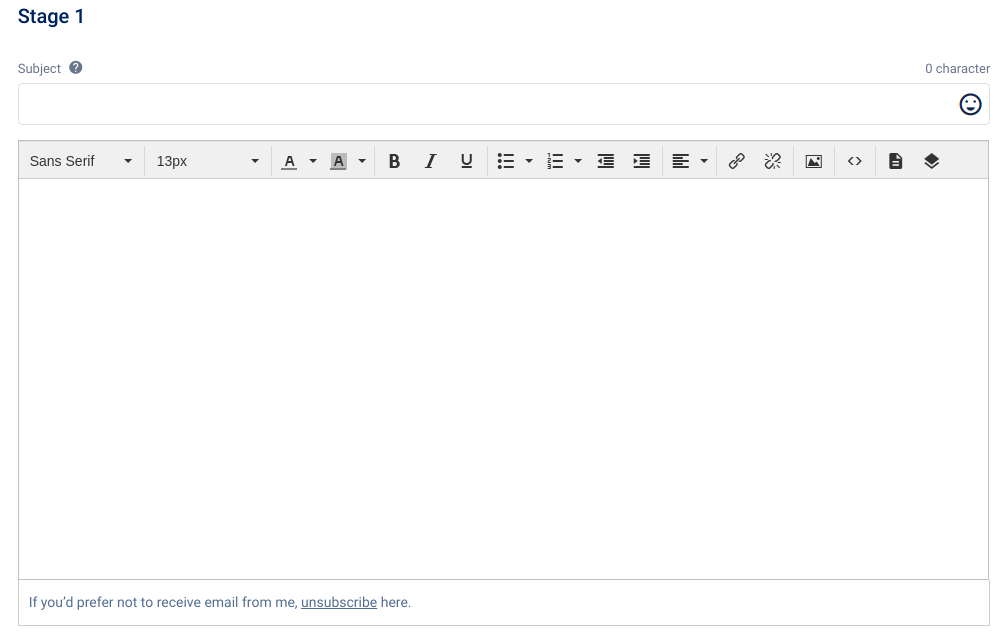 improve email deliverability using unsubscribe links