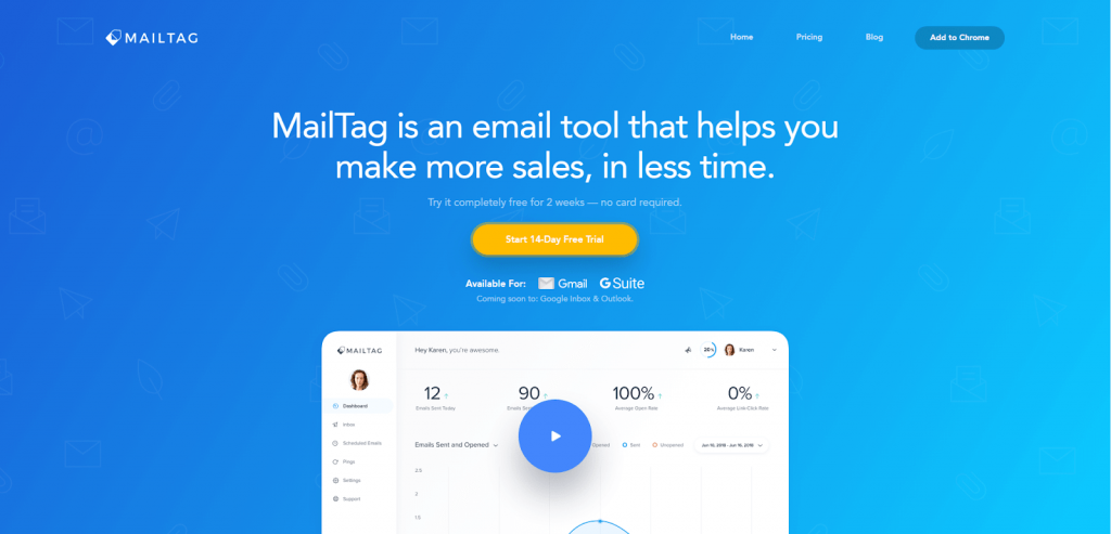 Mailtag email tracker