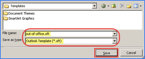 templates in outlook