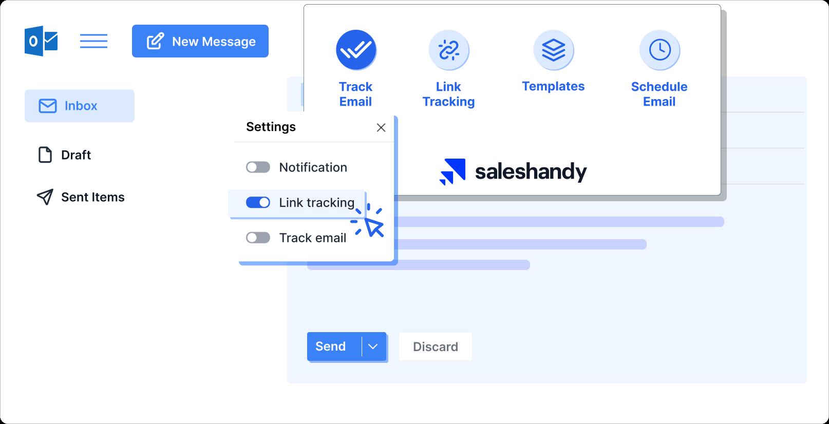 Individual link tracking